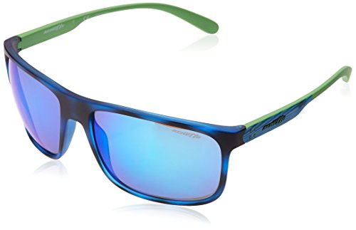 Arnette 246525 Gafas de sol, Blue Havana, 62 para Hombre