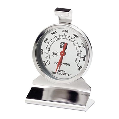 CDN DOT2 ProAccurate Oven Thermometer, The Best Oven Thermometer for Instant Read in Food Cooking. Stainless Steel For Monitoring Oven Temperatures. Large Dial. NSF Certified.