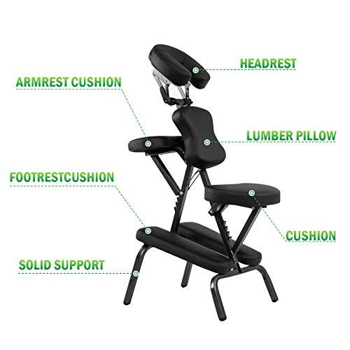 Giantex Portable Light-Weight Massage Chair