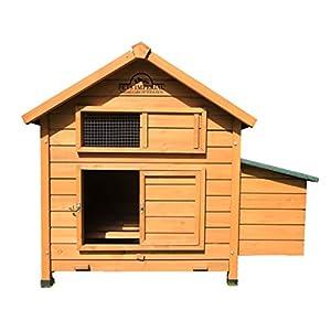 Pets Imperial® Hühnerstall Savoy/Marlborough für bis 6 Vögel mit Single Nest Box, leicht zu reinigen Schiefer Tablett