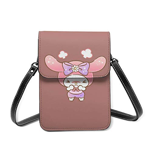 Angry Melody Cell Phone Purse with Credit Card Slots Crossbody Shoulder Bag for Women Teen