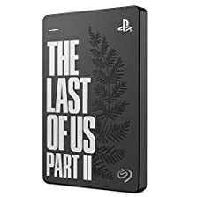 Seagate Game Drive PS4 - The Last of Us II Special Edition, tragbare externe Festplatte 2 TB, 2.5 Zoll, USB 3.0, Playstation4, Modellnr.: STGD2000202 © Amazon