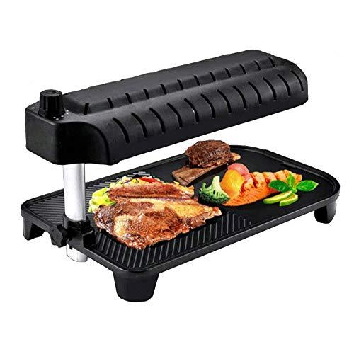 Big Shark Elektrische grillpan met anti-aanbaklaag, Koreaanse grillpan, 3D-elektrische grillpan, elektrische grillpan,