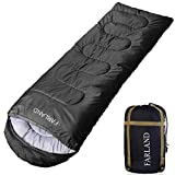 FARLAND Sleeping Bag for Adults Teens Kid with Compression Sack Portable and Lightweight for 3-4 Season Camping, Hiking,Waterproof, Backpacking and Outdoors (8, 55106)