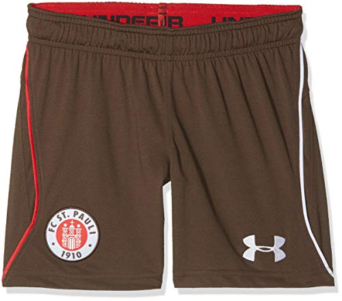 Under Armour Kinder FC St. Pauli Heim Replica Shorts, Timber (241), YXL