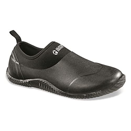 Guide Gear Low Bogger Men's Slip On Rubber Clogs, Garden, Yard Muck Shoes, Black, 12D (Medium)