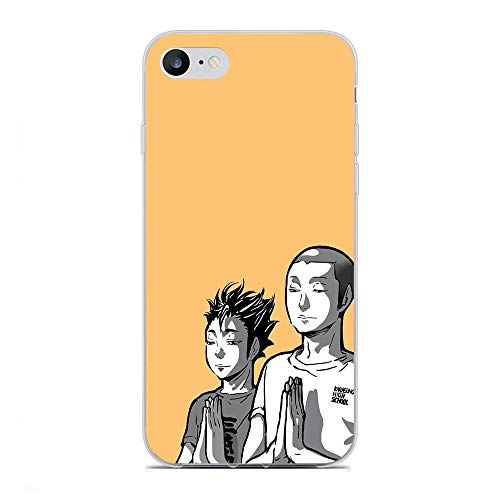 Case for Apple iPhone 6/6s, Haikyuu-Team Volleyball Fly 6 Transparent Thin TPU Shockproof Silikon Coque Cover Phone Cases
