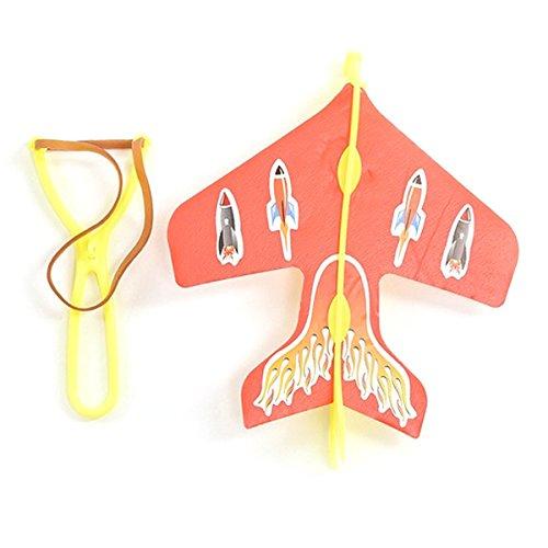 TOOGOO Puzzle pour enfant emettant des avions catapultes DIY Jouet a voler