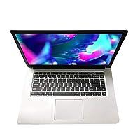 Laptop Multifunzione da 15,6 Pollici 1080P Windows 10 Ultrasottile 2G + 32 GB Funzionamento ad Alta velocità Computer Portatile da Ufficio per Studio (Argento;) BCVBFGCXVB