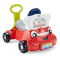 the best gifts for baby's first christmas, push car