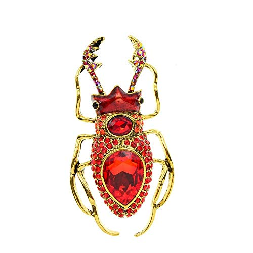 GLKHM Women's Brooch Brooches Women Fashion Vintage Brooch Insect Pin Accessories