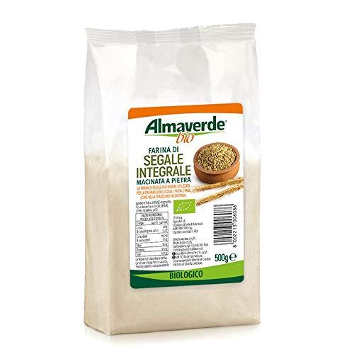 Almaverde Bio Farina di Segale Integrale Biologica. 3 Confezioni da 500 gr.
