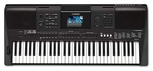 Bruni Schutzfolie kompatibel mit Yamaha PSR-E453 Folie, glasklare Displayschutzfolie (2X)
