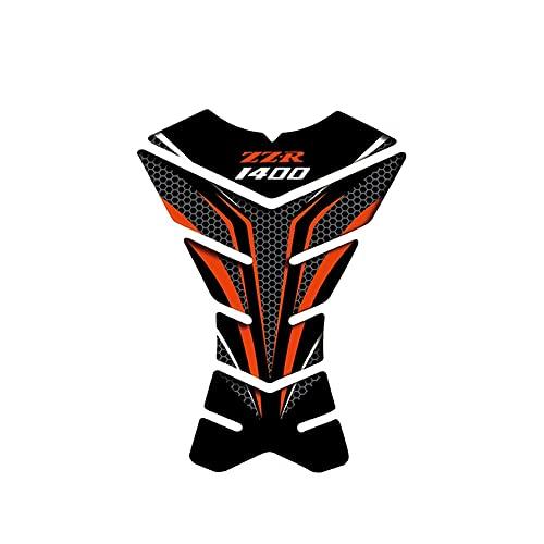 Protector DE Tanque Moto para Kaw&asaki ZZR1400 ZZR 1400 Motocicleta 3D Almohadilla De Tanque Cubierta Protectora Calcomanías Pegatinas Motocicleta Almohadilla De Tanque Pegatina (Color : 28)