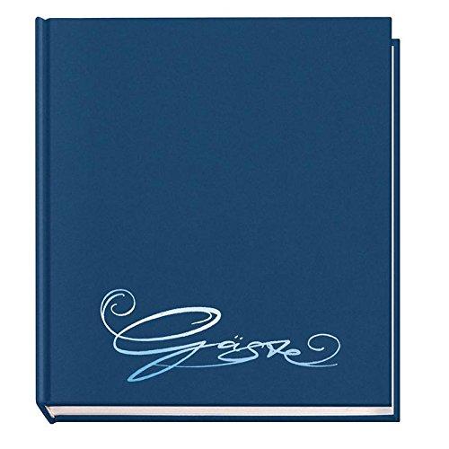 Gästebuch Classic, blau