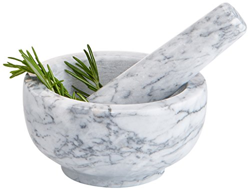 Artland Marble Mortar and Pestle