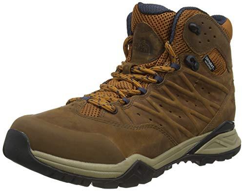 The North Face Mens Hedgehog Hike II Mid WP, Zapato para Caminar para Hombre, Timber Tan, 44 EU