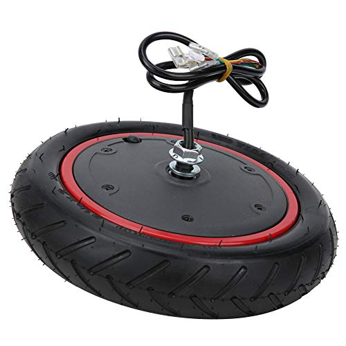 Neumático inflable del motor, 350w 36v Motor de la rueda motriz Neumático inflable Neumático de goma del metal Rueda motriz Neumático de alta potencia para scooter eléctrico Apto para Xi-aom-i M365/m3