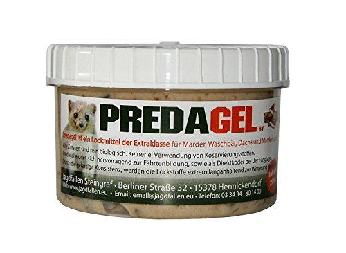 Predagel® Lockmittel für Marder Marderhund Waschbär 200g Lockstoff Duftstoff Marderlockmittel Köder