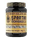 JNutrition Spartan Isohydroox 3.0, WHEY PROTEINE ISOLATE ZERO, Proteine in Polvere del Siero di latte, Proteine whey per aumento massa muscolare (CIOCCOLATO)