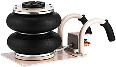 NEW Jia Qun 2 Bag Air Jack 5500LBS Capacity Pneumatic Jack 12 Inch Lifting Height Pneumatic Air Jack Fits on Soft and Easy-Collapsing Terrain (5500LBS) (2 Bag)