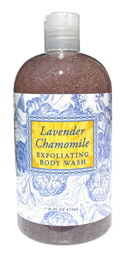 Greenwich Bay LAVENDER CHAMOMILE Exfoliating Body Wash for Men and...