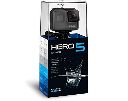GoPro HERO5 Black Action Kamera (12 Megapixel) schwarz/grau - 3
