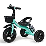 COOL-Series Kids Trike Toddlers Children Tricycle Stroller Trike 3 Wheel Pedal Bike Multicolor for 2 3 4 5 Years Old Boys Girls Indoor & Outdoor with Storage Bin and Cup Holder (Blue)