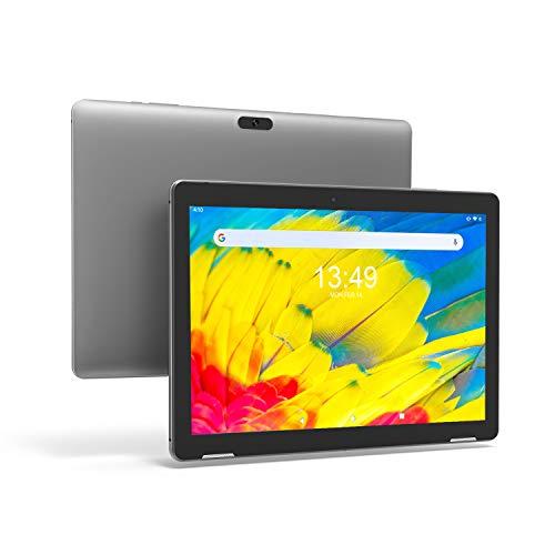Tablet 10 Pulgadas Android 9.0 PC - Winnovo T10 Tablets Quad Core MT8163 3GB RAM 32GB ROM HD IPS 1280x800 2.0MP+5.0MP Cámara WiFi Bluetooth HDMI GPS FM (Gris)
