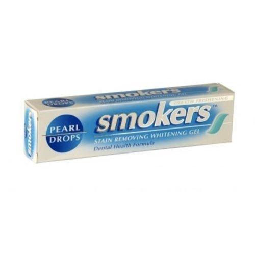 Smokers - Pack triple de pasta de dientes de Pearl Drops para fumadores