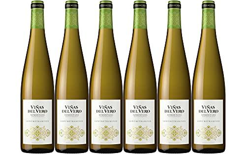 Viñas Del Vero Gewurztraminer Colección - Vino D.O. Somontano - 6 botellas de 750 ml - Total: 4500 ml