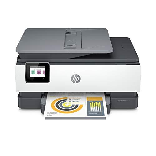 HP OfficeJet Pro 8022e Multifunktionsdrucker (HP Instant Ink, A4, Drucker, Scanner, Kopierer, Fax, WLAN, LAN, Duplex, HP...