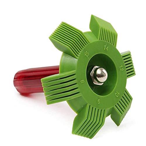 Condición del Aire del Radiador del Coche Auto Peine Condensador De Láminas Enderezadora Refrigeración Herramientas De Reparación