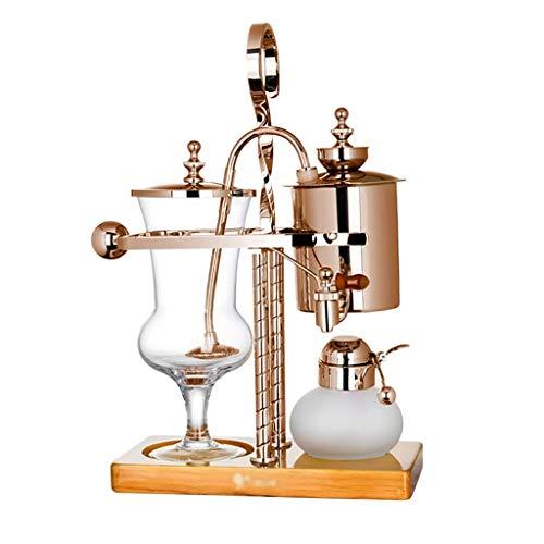 Moulin à café manuel -Siphon Coffee Pot Set Siphon ménage peut Belgique Kanne Royal, 4 modèles à vide Machines à café (Couleur: A1) Haike (Couleur: A1) WTZ012 (Color : A)