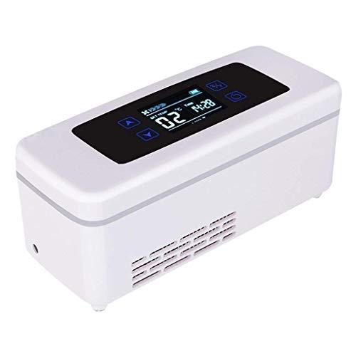 TUNBG Portable Medicine Kühlschrank Insulin-Kühler Gehäuse Smart wiederaufladbare Interferon-Impfstoff-Kühler 20,8 x 8,5 x 9 cm (8,19 x 3,35 x 3,54 Zoll) (Farbe: A2),A1