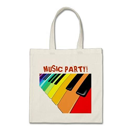 Toetsenbord Muziek Party Kleuren Tas