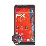 atFolix Schutzfolie kompatibel mit Alcatel One Touch Pop 4 (6) Folie, entspiegelnde & Flexible FX Bildschirmschutzfolie (3X)