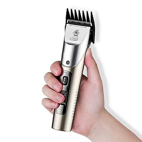 IV Cordless Pet Hair Clippers Low Noise, Professional Dog Grooming Kit, Best Shaver for Dog Cats Pets