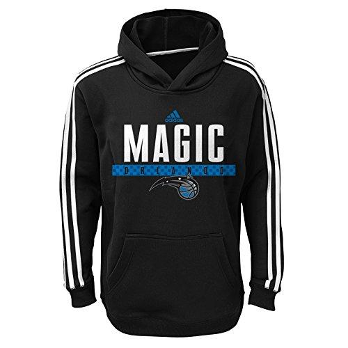 NBA Orlando Magic Youth Boys 8-20 Pullover Playbook Hood, Black, Medium (10/12)