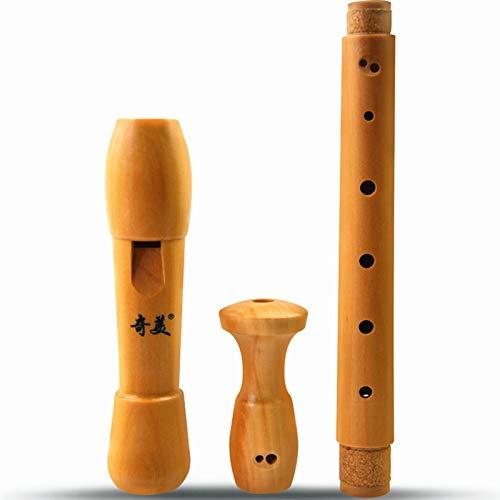Flauta Flauta Dulce De Madera Para Clarinete Barroco Y Alemán Flauta Alto 8 Hoyos Flauta Gaita Funda Flauta Colegio Grabadora Intrumento Musical