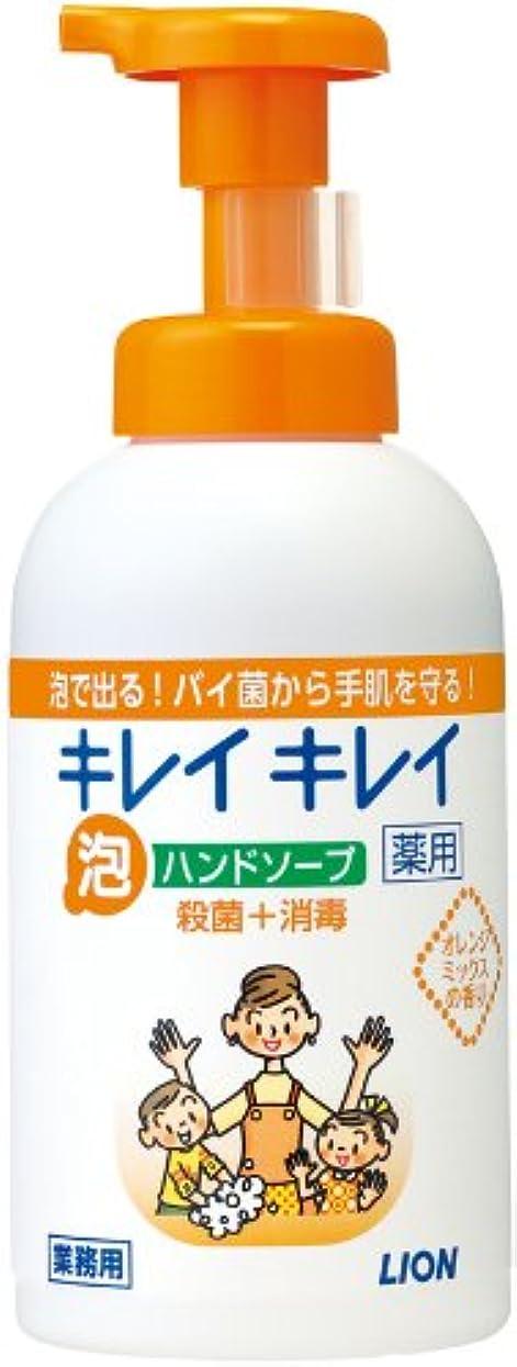 慰め階層真空キレイキレイ 薬用泡ハンドソープ オレンジミックスの香り 550ml