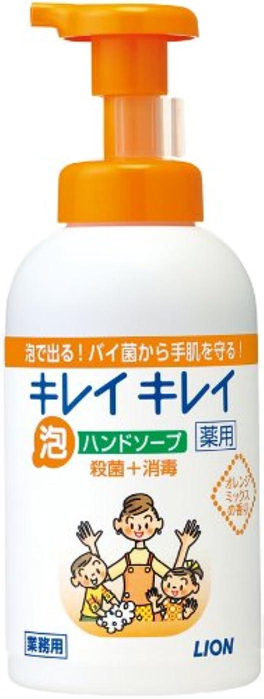 申込み同盟優れたキレイキレイ 薬用泡ハンドソープ オレンジミックスの香り 550ml