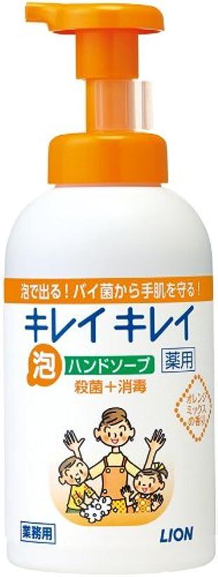 業界ギャロップ署名キレイキレイ 薬用泡ハンドソープ オレンジミックスの香り 550ml