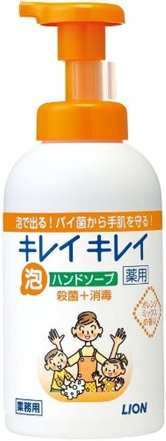 感度どちらかフロントキレイキレイ 薬用泡ハンドソープ オレンジミックスの香り 550ml