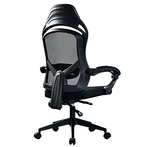 Gamestoel Ergonomische Swivel Computer Stoel Office Chair High Back Reclining PC Stoel met verstelbare armleuning en lendensteun Racing Style gamestoel bureaustoel [Energy klasse A +++]