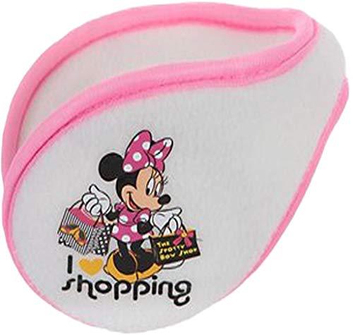 Disney Minnie Maus Fleece Ohrenwärmer Ohrenschützer Minnie weiss