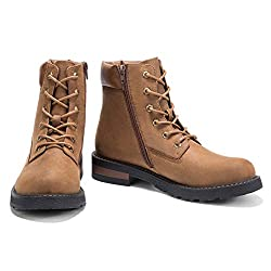 """""""GM GOLAIMAN Mens Combat Boots Lace up Motorcycle Boots"""""""