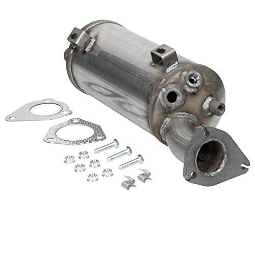 ECD Germany Kat-153 Dieselpartikelfilter Rußpartikelfilter DPF | Länge [mm]: 460 | mit Montagteile | Ruß-/Partikelfilter Partikelfilter Abgasanlage