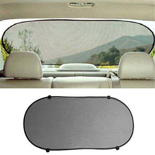 Winwinfly Schwarze Seite Heckscheibe Mesh Visor Shield Bildschirm Sonnenschutz für Auto UV-Schutz
