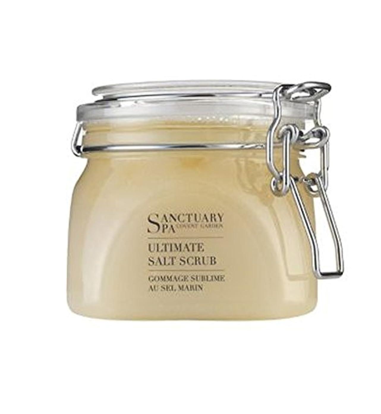 アパルバックグラウンド広告するSanctuary Salt Scrub 650g - 聖域塩スクラブ650グラム (Sanctuary) [並行輸入品]